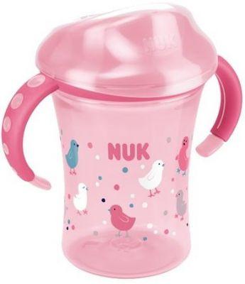 NUK Easy Learning Hrnek na učení 2 - s držátky, 250 ml – růžový