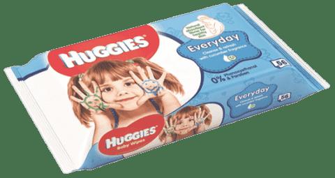HUGGIES® Single Everyday, 56 ks - vlhčené obrúsky