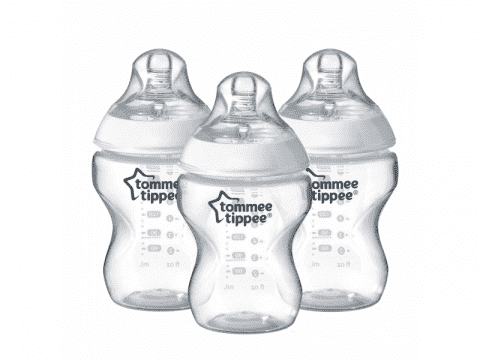TOMMEE TIPPEE Kojenecká láhev C2N 260 ml, 0 m+, 2+1 zdarma