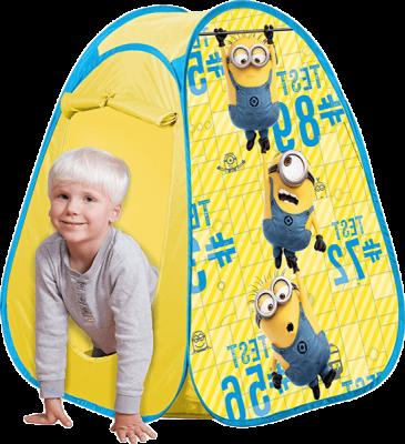 JOHN POP UP Dziecięcy namiot Minionki 75 x 75 x 90cm