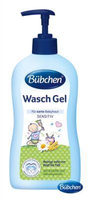 BÜBCHEN Żel do mycia dla niemowląt z pompką 400ml