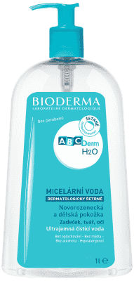 BIODERMA ABCDerm H2O micerální roztok 1000 ml