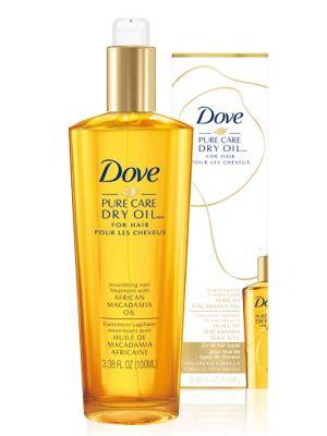 DOVE lehký olej na vlasy 100 ml (všechny typy vlasů)