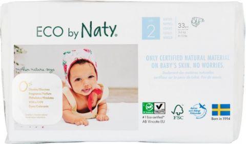 NATY NATURE BABYCARE 2 MINI, 33 szt. (3-6 kg) - pieluchy jednorazowe