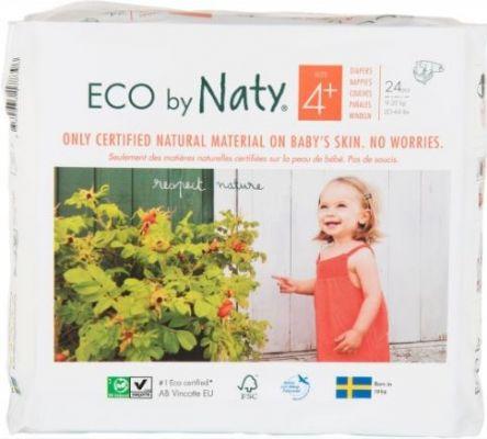 NATY NATURE BABYCARE 4+ MAXI+, 24 ks (9-20 kg) - jednorázové pleny