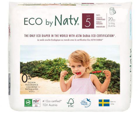 NATY NATURE BABYCARE 5 PANTS, 20 ks (12-18 kg) - kalhotkové pleny