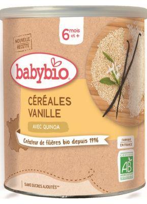 BABYBIO Nemléčná rýžovoquinoová kaše s vanilkou (220 g)