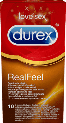 DUREX Real Feel (10 ks) - kondomy