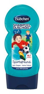 BÜBCHEN Kids šampon a sprchový gel 2v1 Malý fotbalista 230 ml