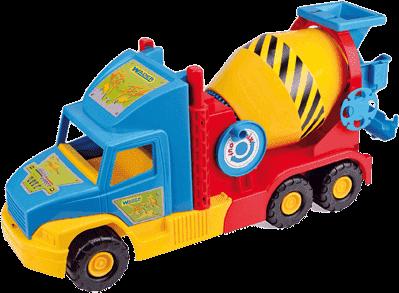 WADER Auto Super Truck domiešavač 53 cm - rôzne farby