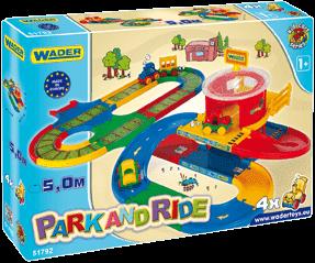 WADER Kid Cars stacja przesiadkowa 5 m 1+