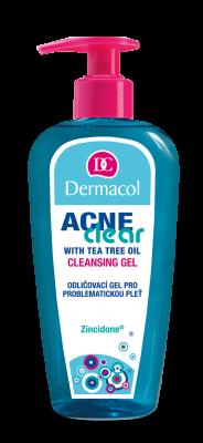 DERMACOL Acneclear odličovací gel pro problematickou pleť 200 ml