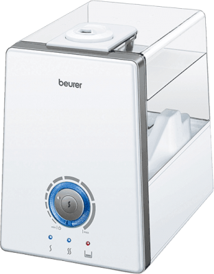 BEURER LB 88 Ultradźwiękowy nawilżacz powietrza do pomieszczeń 48m2 – Biały