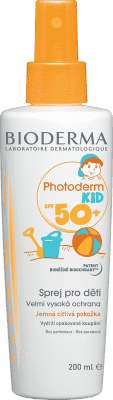 BIODERMA Photoderm kid opalovací spray spf50+ 200 ml