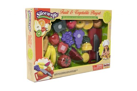 TEDDIES Ovoce a zelenina krájecí plastová
