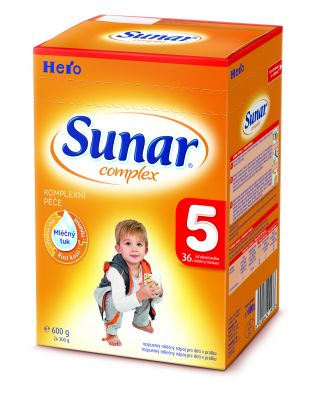 SUNAR Complex 5 (600 g) - kojenecké mléko