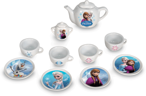 SMOBY Kávový porcelánový set Ľadové kráľovstvo