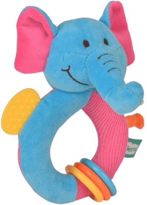 FIESTA CRAFTS Hrkálka s hryzátkom - Slon