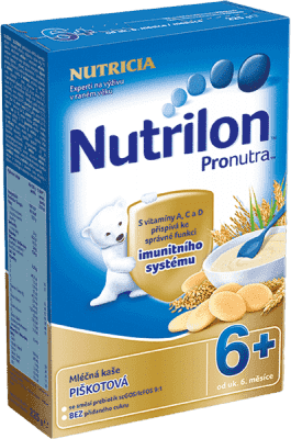 NUTRILON ProNutra piškotová (225 g) - mléčná kaše