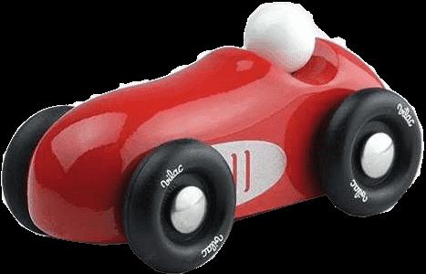 VILAC Drewniane dizajnowe auto wyścigowe - czerwone