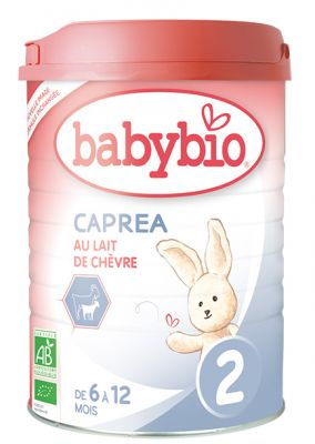 BABYBIO Kozí mléko 2 Caprea 900 g