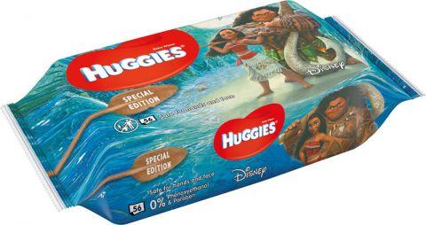 HUGGIES® N'Care Disney Moana 56 ks – vlhčené ubrousky