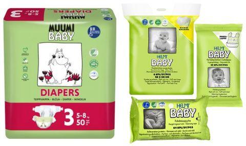MUUMI Startovací balíček Baby Midi 50 ks (5-8 kg)