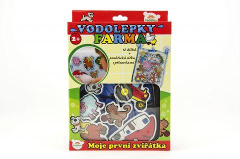 TEDDIES Vodolepky Moje první zvířátka farma