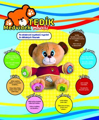TEDDIES Medvěd Tedík česky mluvící