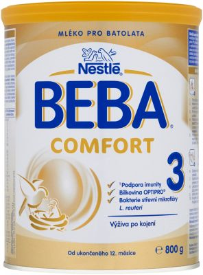 BEBA COMFORT 3 (800 g) - kojenecké mléko
