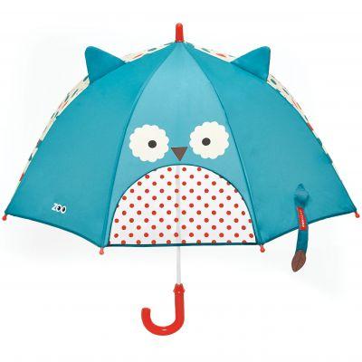 SKIP HOP Zoo deštník s okénkem na výhled Sovička 3+
