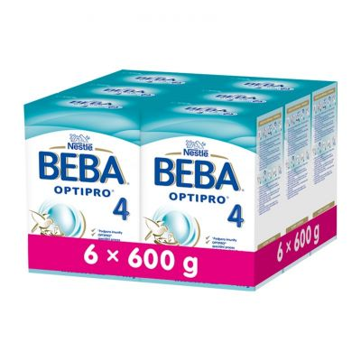 6x BEBA OPTIPRO 4 (600 g) - kojenecké mléko