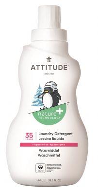 ATTITUDE Prací gel pro děti bez vůně 1050 ml (35 praní)