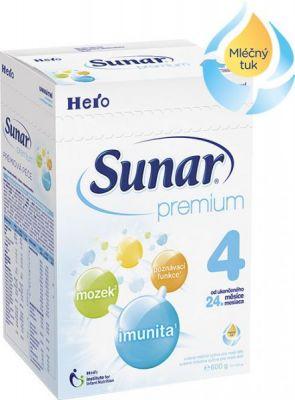 SUNAR Premium 4 (600 g) – kojenecké mléko