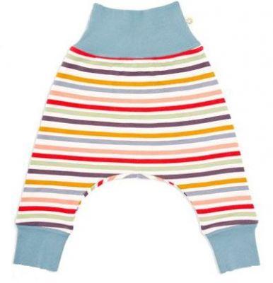 AVANI Drops nohavice 50 - béžová s prúžkami