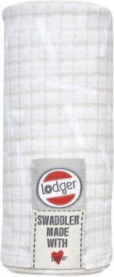 LODGER Bavlněná osuška Swaddler Sprinkle Print - Ivory