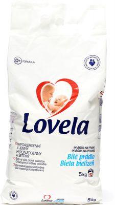 LOVELA Bílá 5 kg (40 dávek) – prací prášek