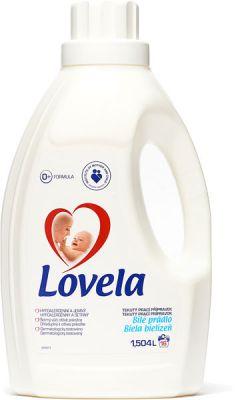 LOVELA Bílá 1,5 L (16 dávek) – prací gel
