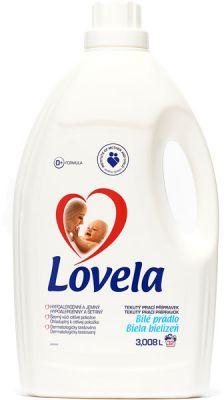 LOVELA Bílá 3 L (32 dávek) – prací gel
