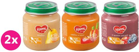 HAMI Menu 2 (6x125g) - ovocný příkrm
