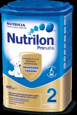8x NUTRILON 2 ProNutra (800 g) - dojčenské mlieko