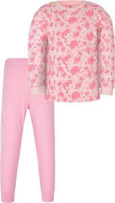 G-MINI Prima Pyžamo dvoudílné Liška A, vel. 104 – růžová