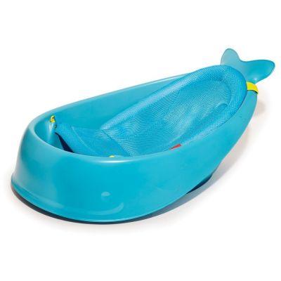 SKIP HOP Vanička s ergonomickou podložkou Moby 3 fázová modrá