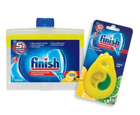FINISH Čistič myčky Lemon 250 ml + DEO Lemon
