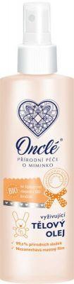 ONCLÉ Dětský vyživující tělový olej (200 ml)