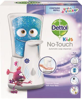 DETTOL Kids Bezdotykový dávkovač mydla - Dobrodruh (250 ml)
