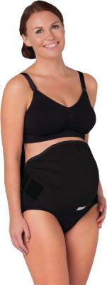 CARRIWELL Těhotenský podpůrný pás přes bříško - nastavitelný - černý L/XL