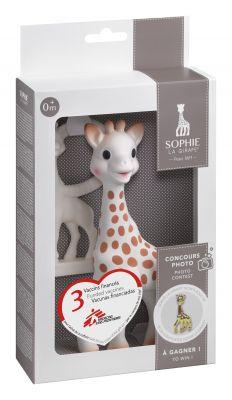 0282d0227e2c VULLI Dárkový set žirafa Sophie (žirafa + kousátko)