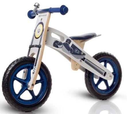 KINDERKRAFT Cykloodrážedlo Runner Motorka s doplňky (zvonek+taška)