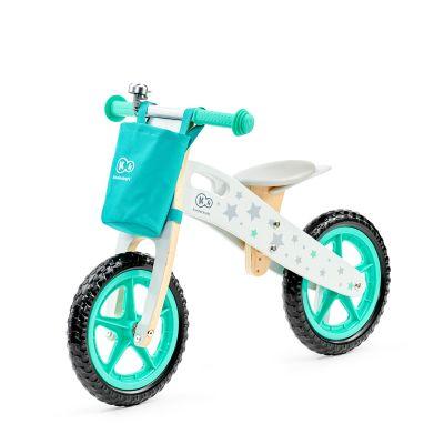 KINDERKRAFT Cykloodrážedlo Runner Stars s doplňky (zvonek+taška)